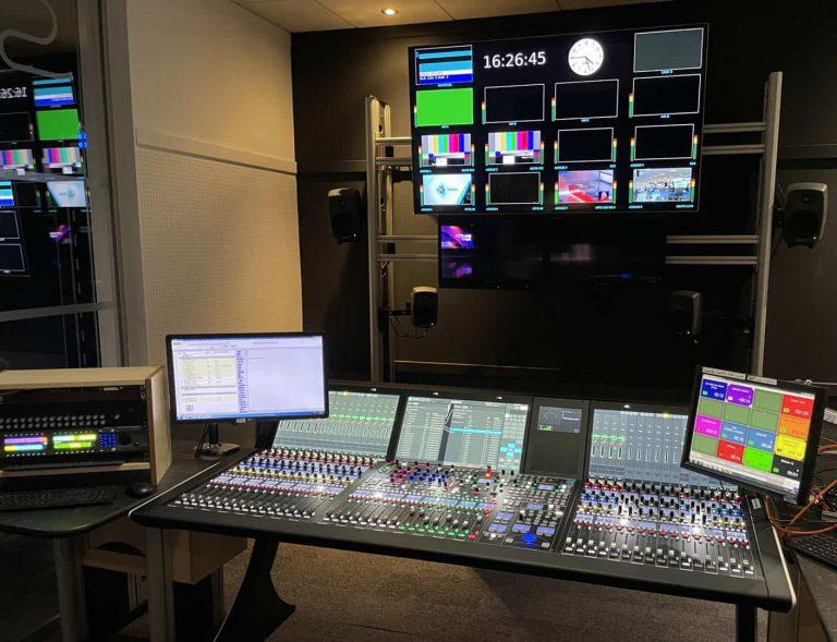 STV pierwszym brytyjskim nadawcą, pracującym z konsoletą Lawo mc²56