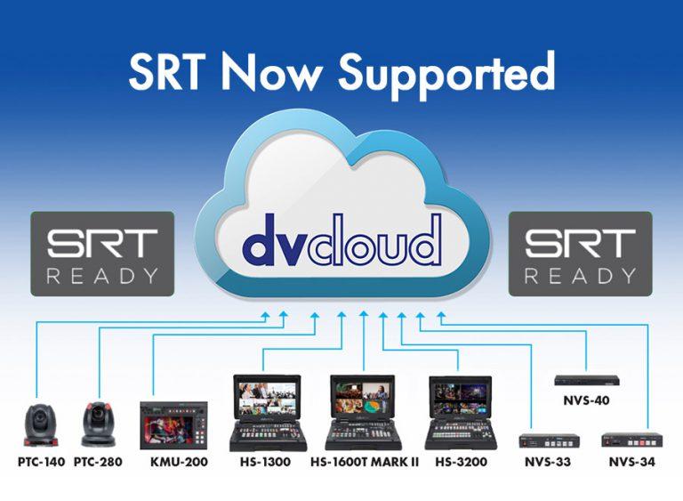 Produkty Datavideo i dvCloud.tv